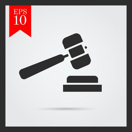 verdicts: Hammer icon