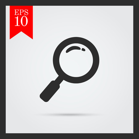 Magnifying glass icon 向量圖像