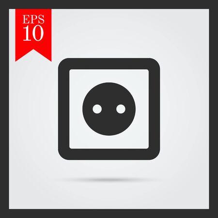 watt: Socket icon Illustration