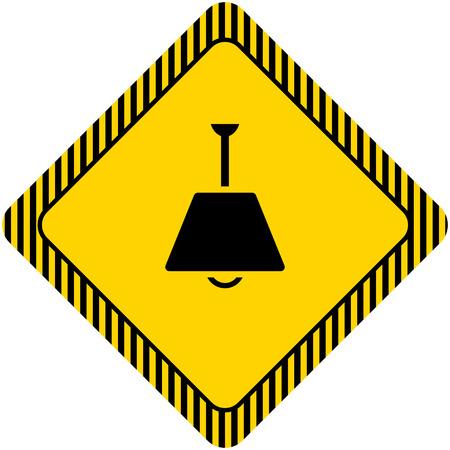 lamp shade: Chandelier icon Illustration