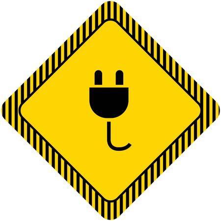 unplugged: Electric plug icon