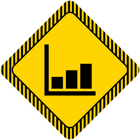 histogram: Icon of growing histogram