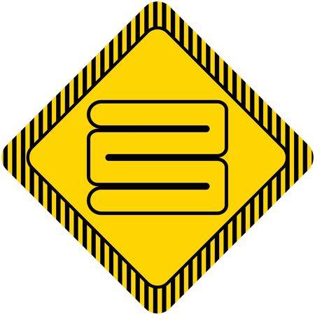 v�tements pli�s: Ic�ne de la pile de v�tements pli�s
