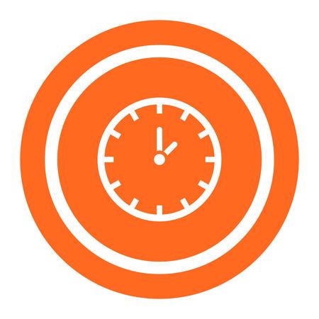 Clock icon 일러스트
