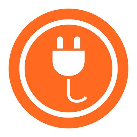 plug adapter: Electric plug icon