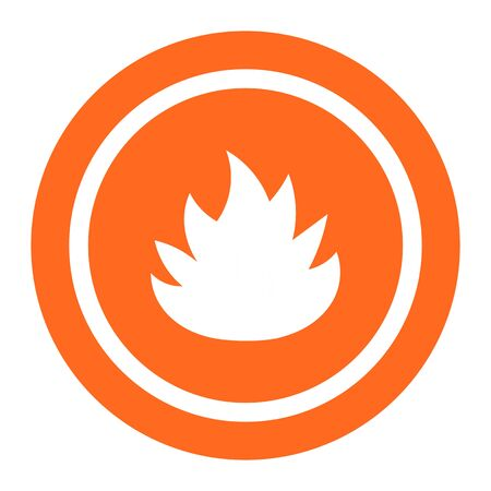 restricting: Icon of flame