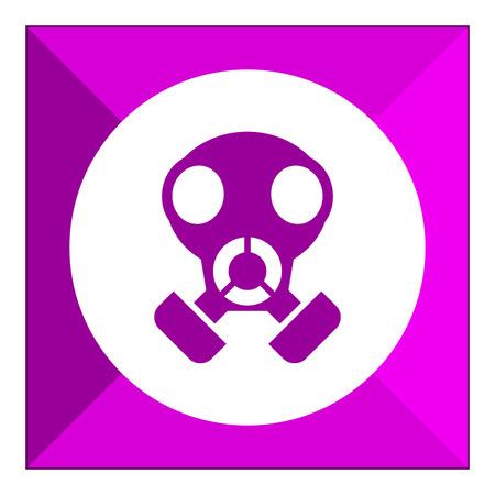 army gas mask: Gas mask icon