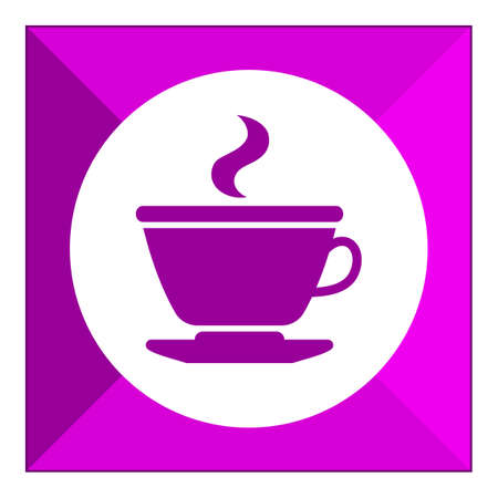 hot drink: Icon of hot drink cup