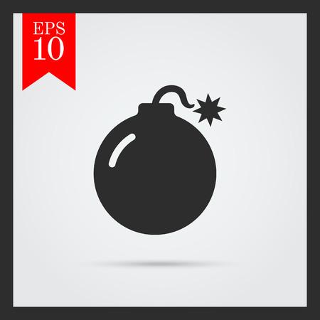 Bomb icon Illustration