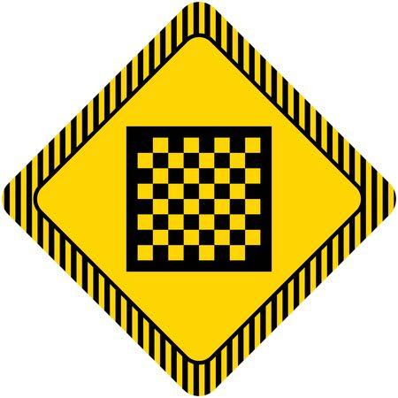 chessboard: Chessboard icon Illustration