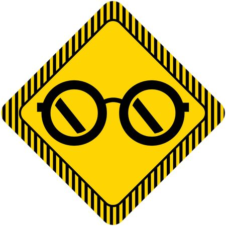 diopter: Glasses icon