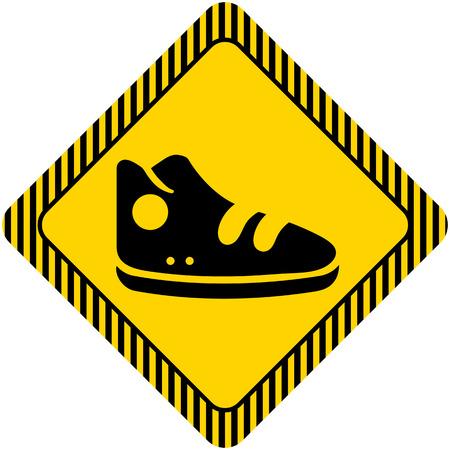 sport shoe: Sport shoe icon Illustration