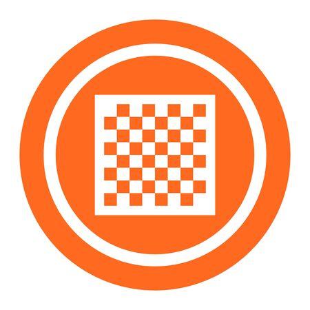 tablero de ajedrez: Icono de tablero de ajedrez