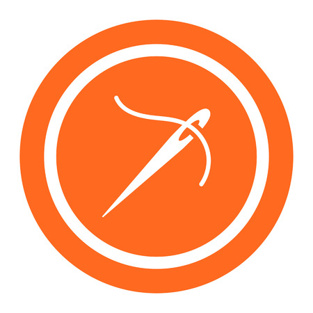 sewing needle: Needle and thread icon
