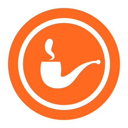 smoking pipe: Smoking pipe icon
