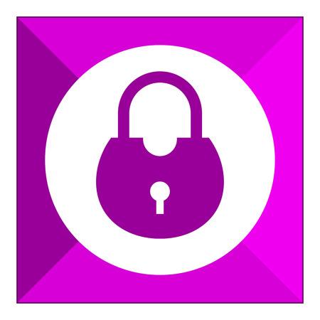 icono candado: Icono del candado Vectores