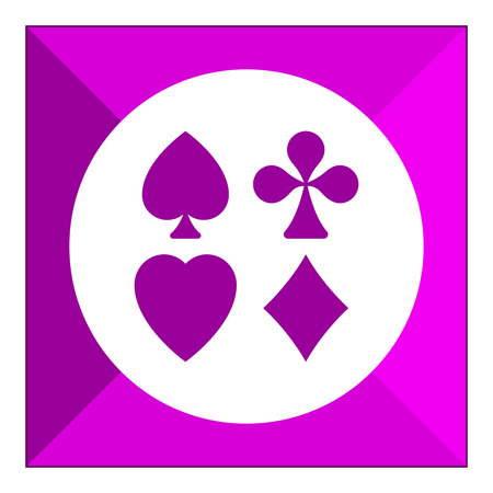 ternos: Icon of playing card suits