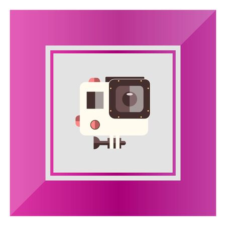 traffic violation: Icon of traffic speed camera