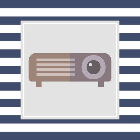 projector: Projector icon Stock Photo