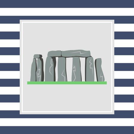 stonehenge: Stonehenge icon Stock Photo