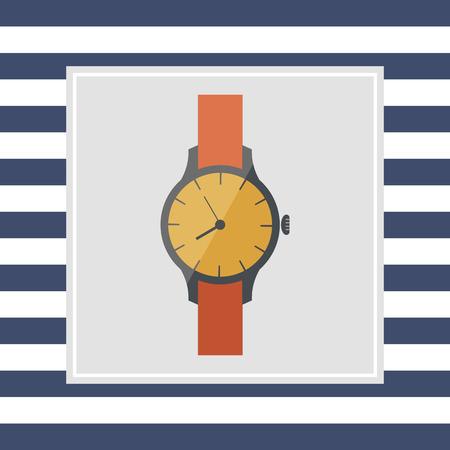 wristwatch: Wristwatch icon Stock Photo