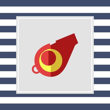 whistle: Whistle icon Stock Photo