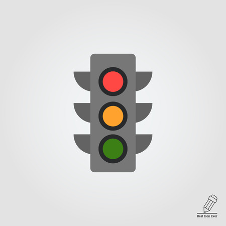 rules: Traffic light icon