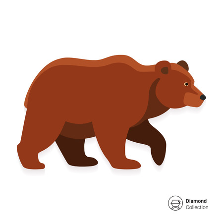 Icon of brown bear