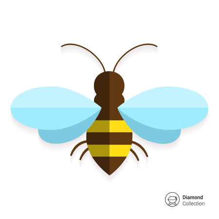 miel de abeja: Abeja icono