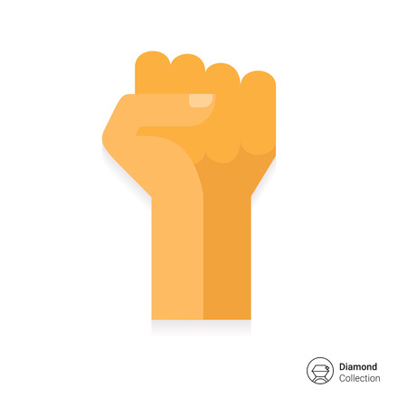 fist up: Fist up icon