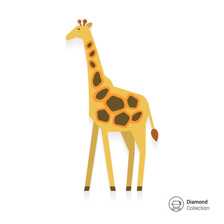 national parks: Giraffe icon