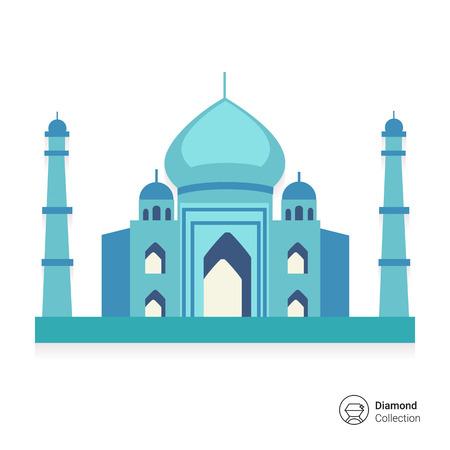 the taj mahal: Taj Mahal icon