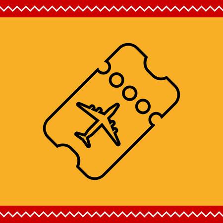 boarding card: