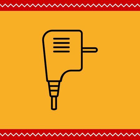 electric plug: Electric plug icon