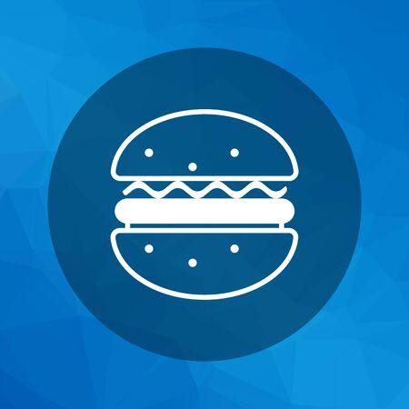 hamburger bun: Hamburger icon