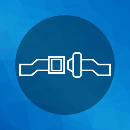 cinturon seguridad: