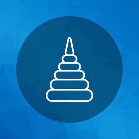 coordination: Stacking toy icon