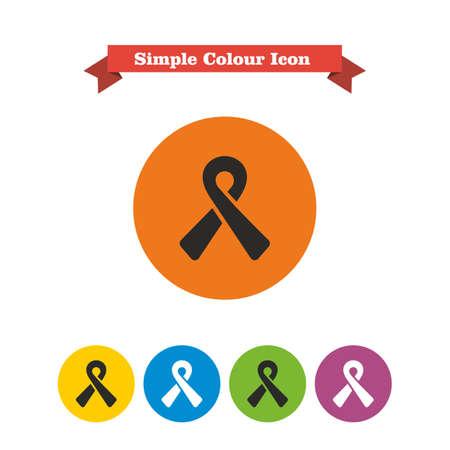 ribbon: Awareness ribbon icon