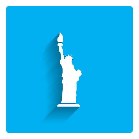 the concept of independence: Statue of Liberty icon