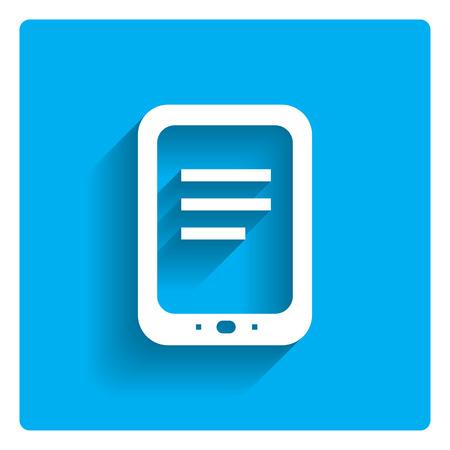 computador tablet: Icon of tablet computer Ilustração