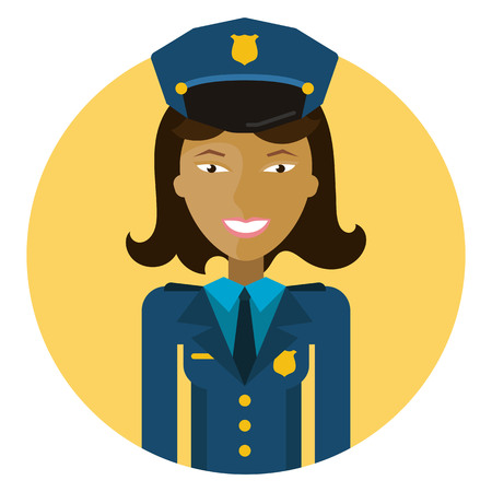 525 Policewoman Stock Vector Illustration And Royalty Free ...