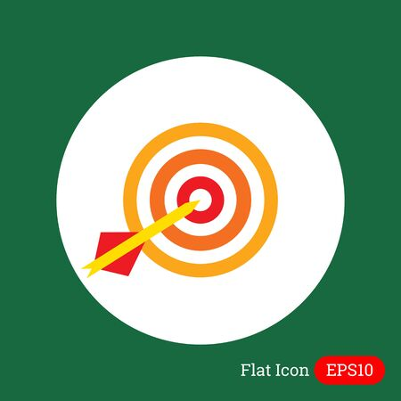golpeando: Icono de dardo diana flecha bateo