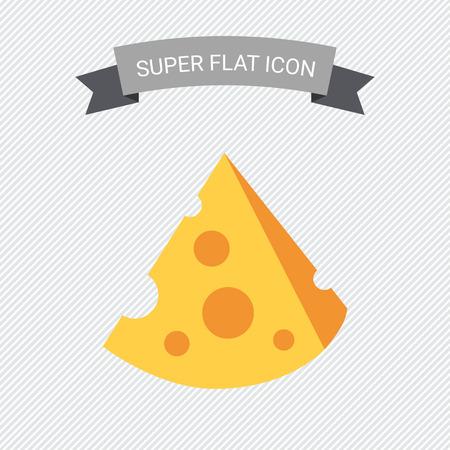 queso: Icono de corte pieza de queso