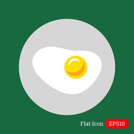fritto: Icona Uovo fritto