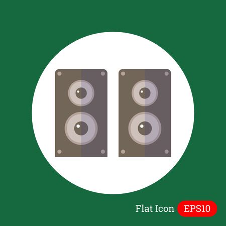 acustica: Acoustics altoparlanti icona