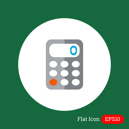 accounting logo: Calculator icon