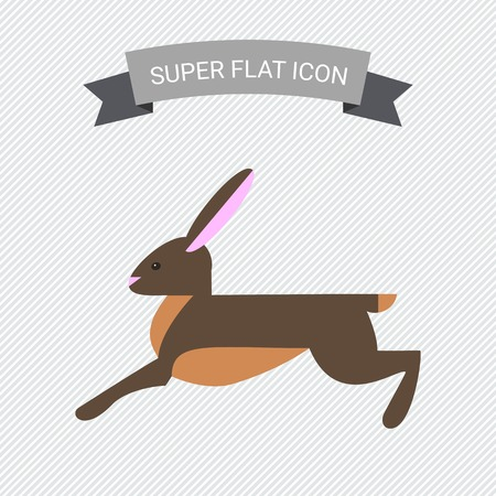 timid: Icon of running hare