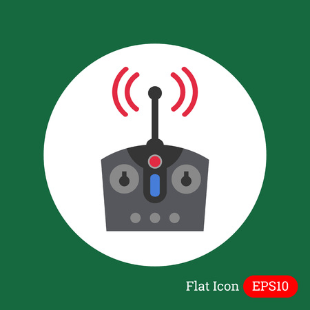 fernsteuerung: Icon of radio remote control
