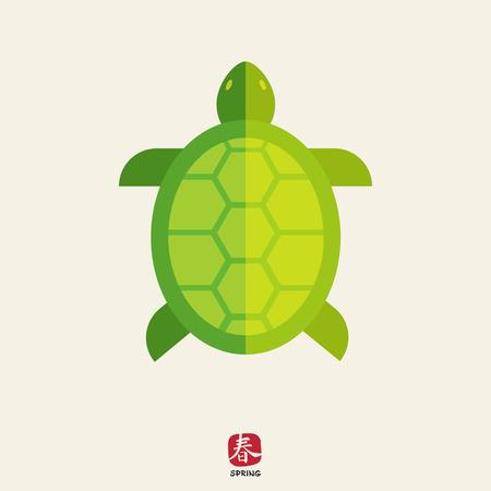 tortuga caricatura: Turtle icono