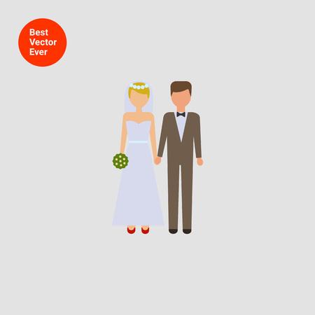 bridegroom: Icon of bride and bridegroom